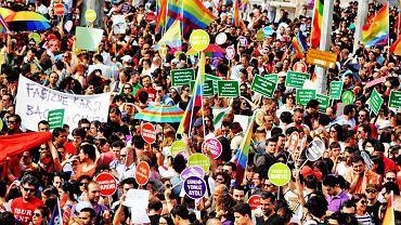 Turecka Parada Równości, 2013 rok.