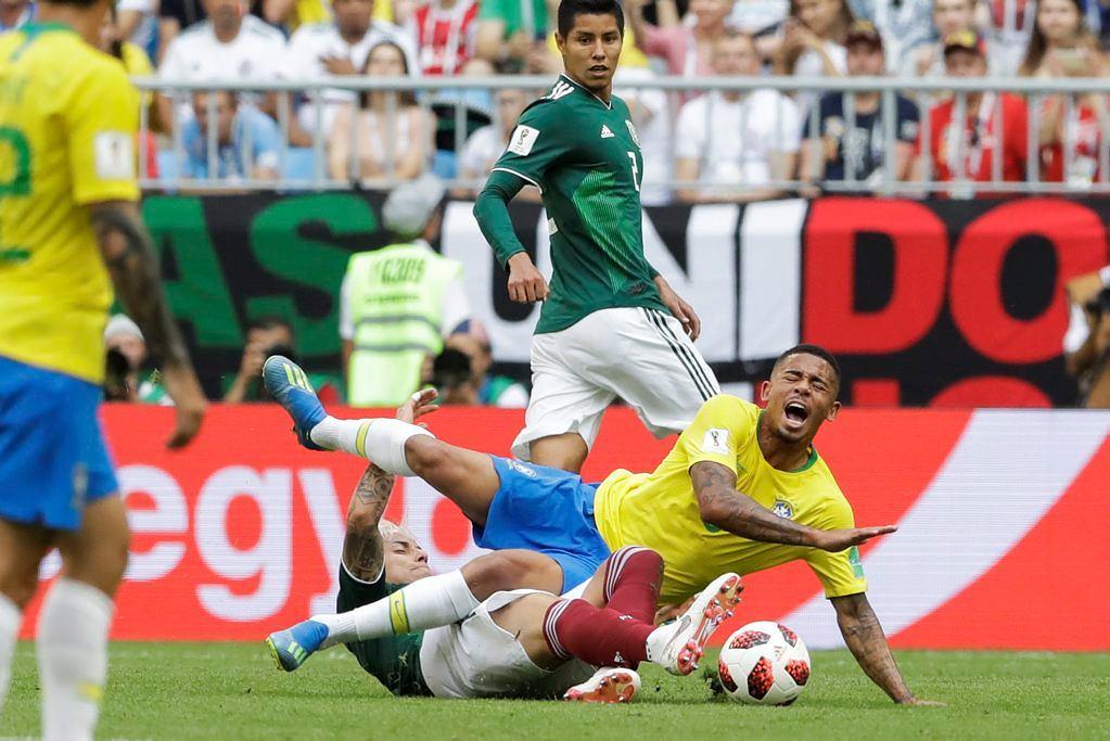 Mecz Brazylia - Meksyk