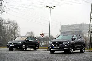 Opinie Moto.pl: Renault Koleos 2.0 dCi vs. VW Tiguan 2.0 TDI - co przyciąga do średniej klasy SUV-ów?