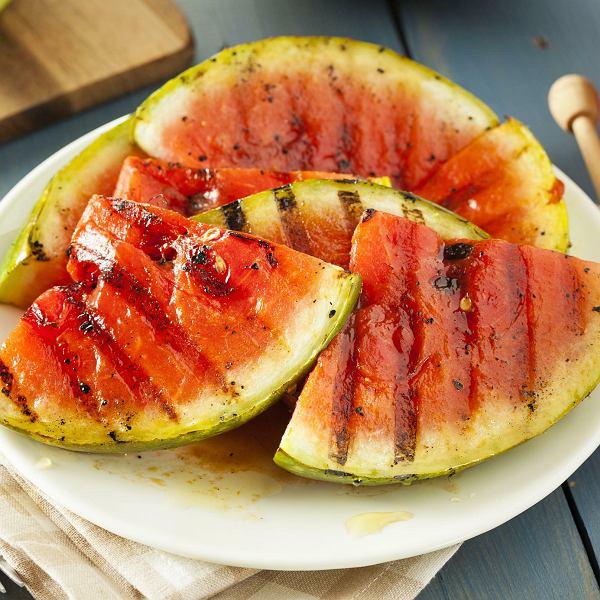 Grillowany arbuz zmiodem itymiankiem