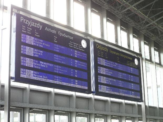 Pożar stacji zasilania. Odwołane pociągi w Warszawie