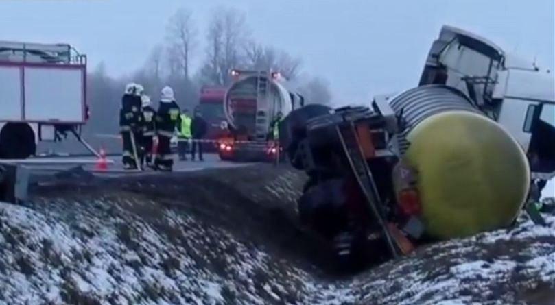 Kierowca cysterny usłyszał zarzut spowodowania wypadku komunikacyjnego ze skutkiem śmiertelnym