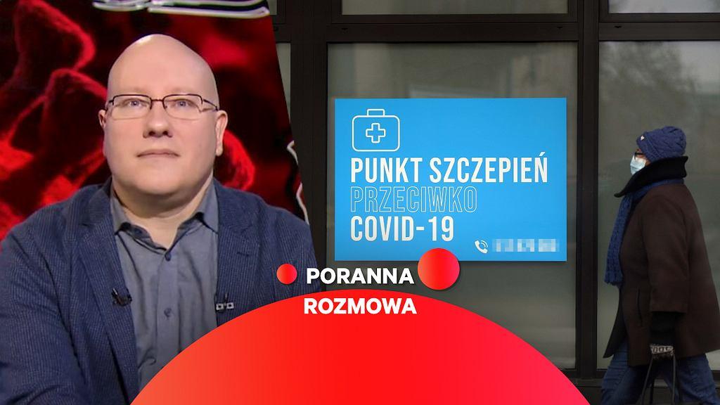 Dr hab. Tomasz Dzieciątkowski gościem Porannej Rozmowy Gazeta.pl