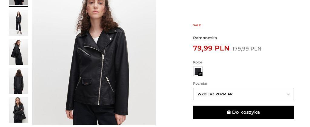 Ta kurtka z Reserved to najmodniejszy model na wiosnę. Teraz 100 zł taniej