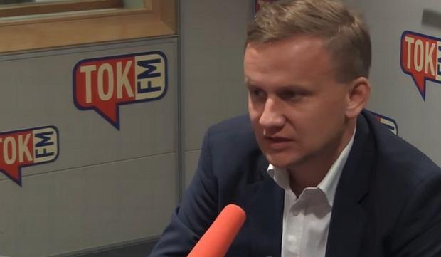 Wiceminister Bartosz Marczuk w 'Poranku Radia TOK FM'