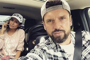 Natalia Siwiec z mężem