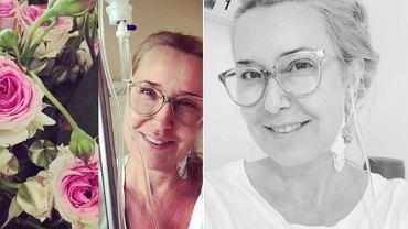 Agata Młynarska w szpitalu dziękuje za życzenia