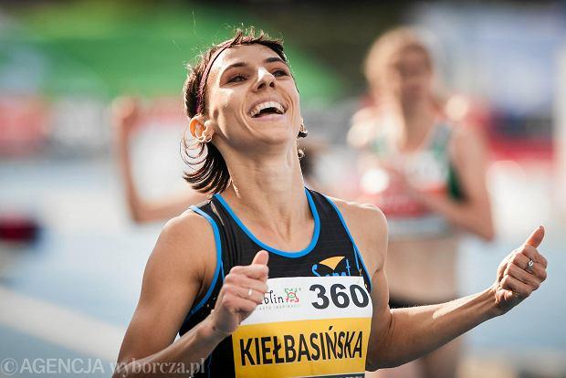 Anna Kiełbasińska podczas 94. Mistrzostw Polski w Lekkiej Atletyce Lublin 2018