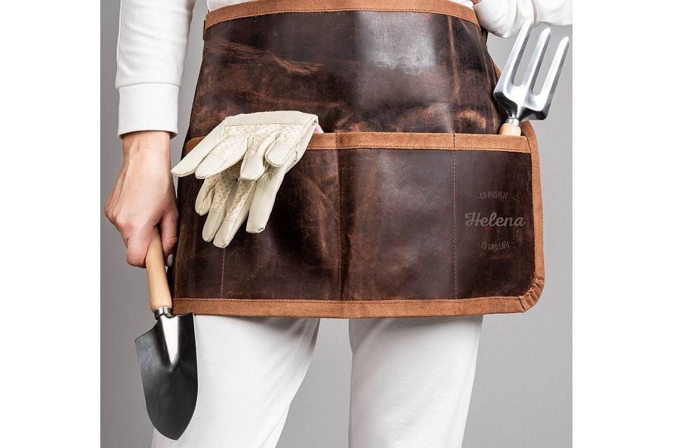 Pas na narzędzia dla miłośniczki prac ogrodowych.