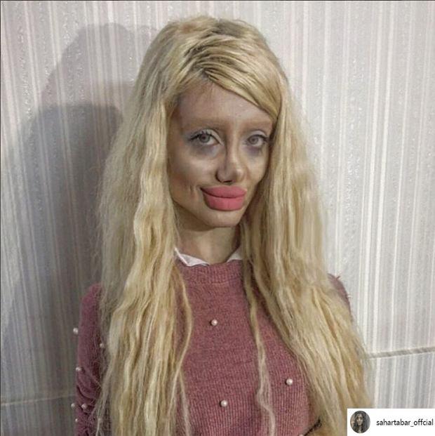 'Zombie Angelina',  Sahar Tabar