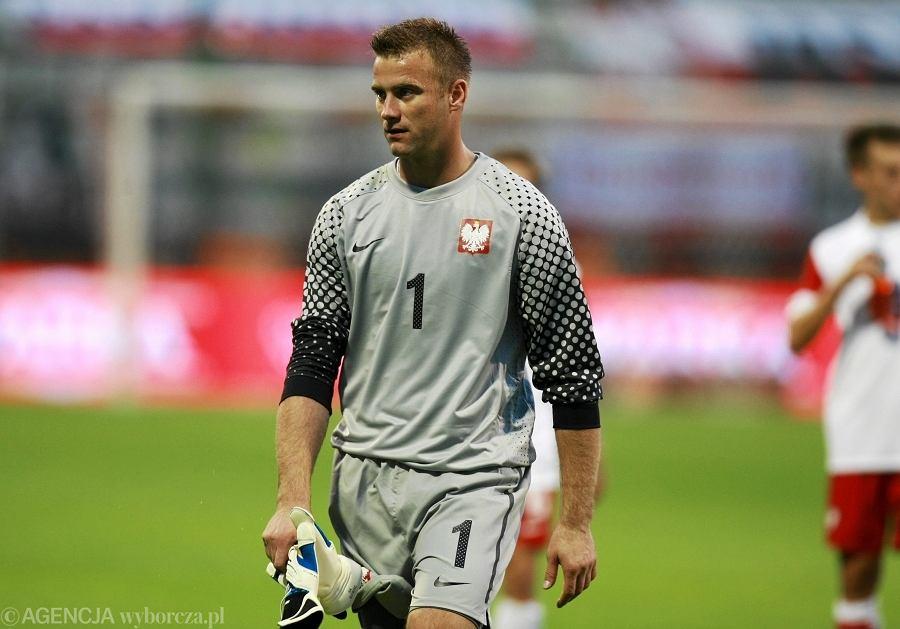 Artur Boruc. Polska - Ukraina 1:1