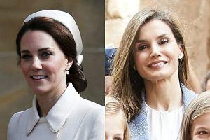 Księżna Kate, królowa Letizia