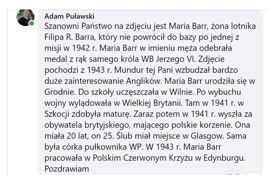 Wpis Adama Puławskiego