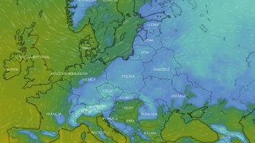 Pogoda. 'Jęzor chłodu' napłynie do Polski w pierwszy dzień wiosny