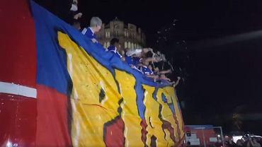 Piast Gliwice świętuje zdobycie pierwszego w historii klubu mistrzostwa Polski