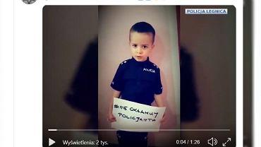 Apel dzieci opublikowała dolnośląska Policja