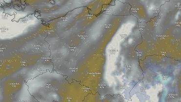 Polska pod wpływem wyżu 'Ophelia'