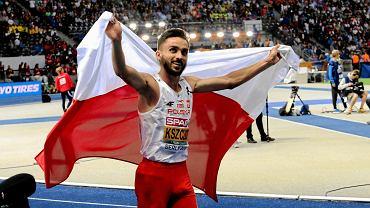 Adam Kszczot po trzecim tytule mistrza Europy