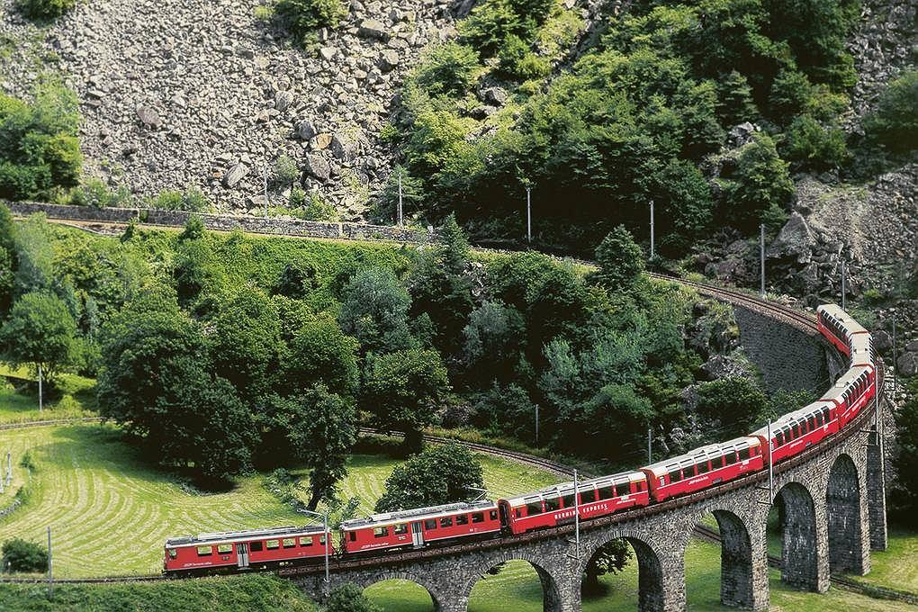 Wiadukt na trasie Chur-St. Moritz został równo dziesięć lat temu wpisany na Listę Światowego Dziedzictwa Kultury UNESCO