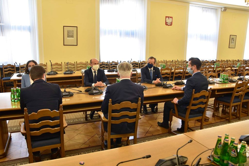 Spotkanie polityków PO i Porozumienia