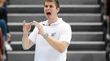 Lotos Trefl - AZS Częstochowa 3:1. Trener gości Michał Bąkiewicz