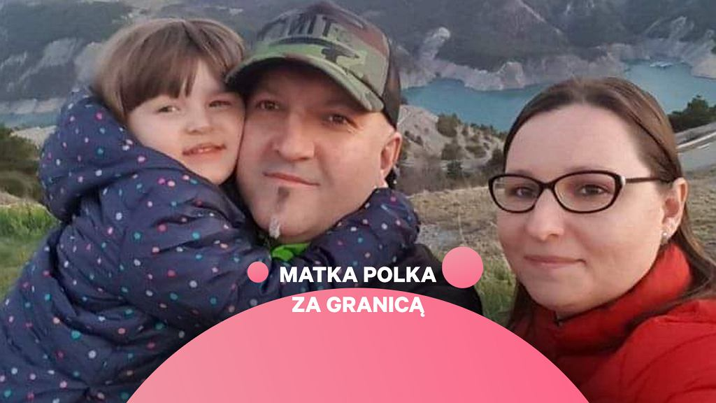 Monika Filipowicz z rodziną