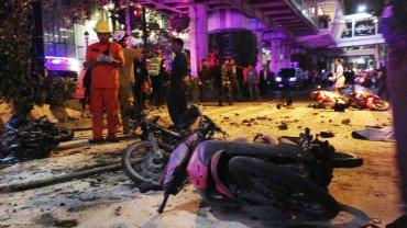 Bangkok. Miejsce, w którym doszło do wybuchu bomby