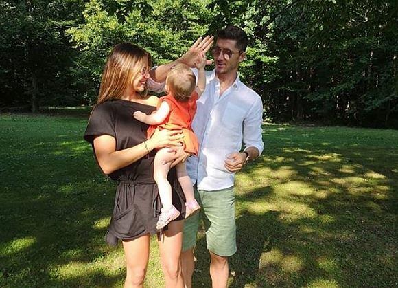 Anna i Robert Lewandowscy na urodzinach zbierali pieniądze na Centrum Zdrowia Dziecka
