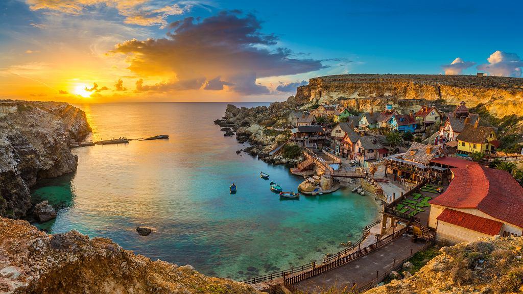 Wioska Popeye na Malcie