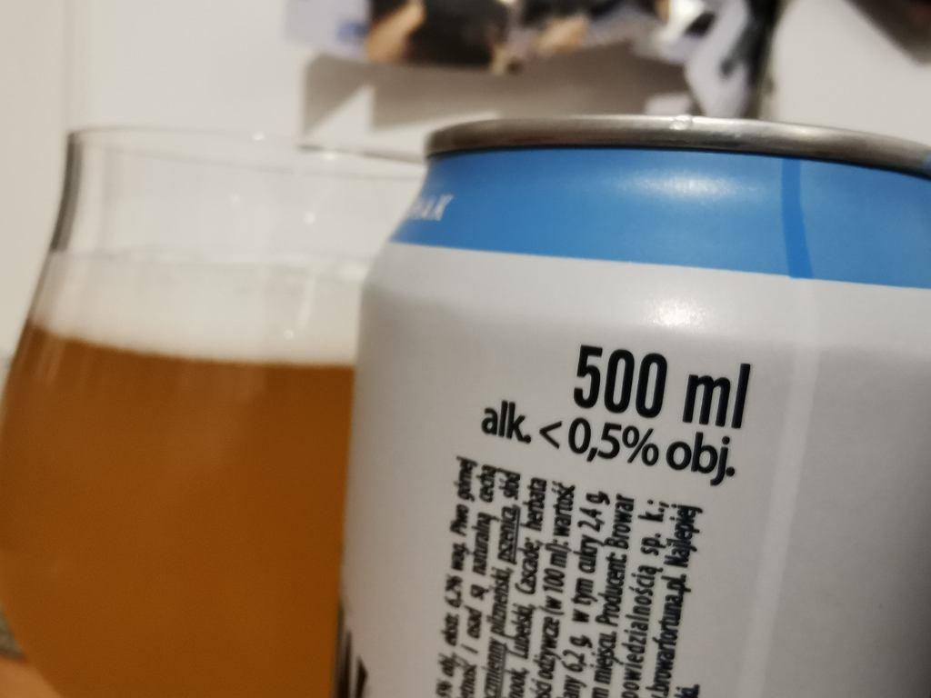 Piwo bezalkoholowe alk. do 0,5 proc.