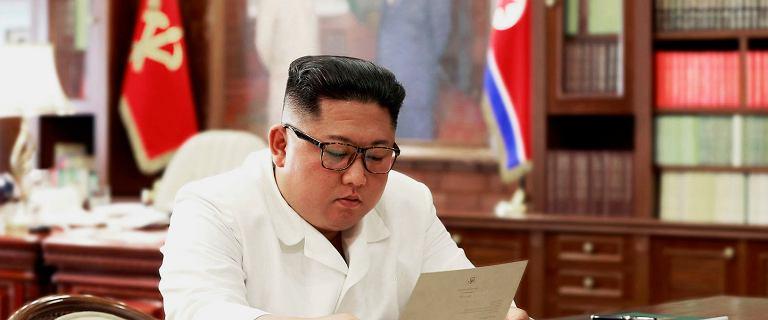 Kim Dzong Un dostał list od Donalda Trumpa.