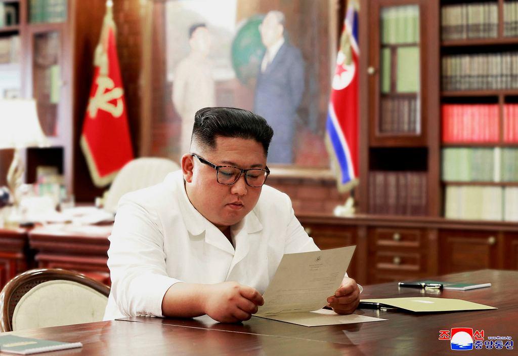 Kim Dzong Un dostał list od Donalda Trumpa
