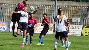 Pierwsza liga piłki nożnej kobiet: TKKF Stilon Gorzów - UKS SMS Łódź 0:4 (0:3)