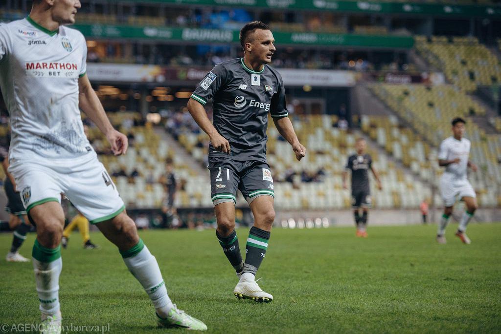 Lechia Gdańsk - Karpaty Lwów 0:1. Sławomir Peszko