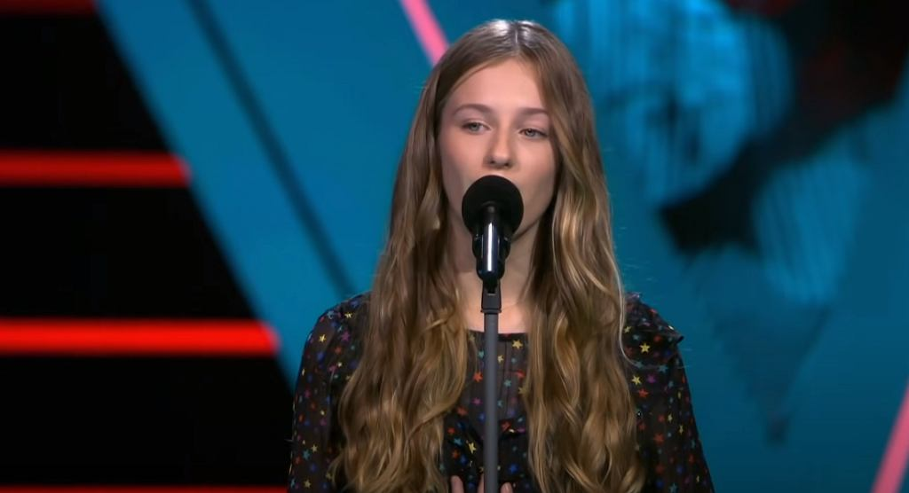 Lilia - I'll Never Love Again | The voice Kids 2021 | The Blind Auditions | Season 10