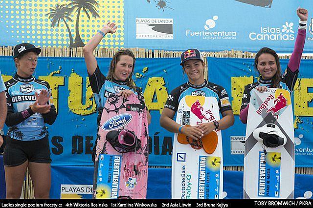 Karolina Winkowska i Asia Litwin na podium