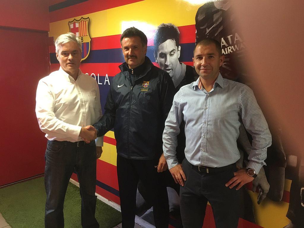 Wojciech Stawowy nowym dyrektorem sportowym FCB Escola Varsovia