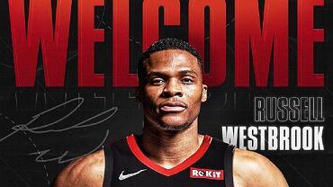 Russell Westbrook nowym koszykarzem Houston Rockets