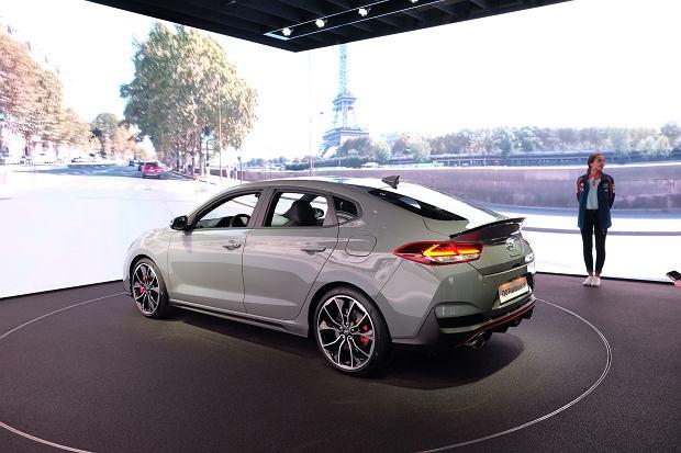 Hyundai i30 Fastback N Salonie w Paryżu 2018