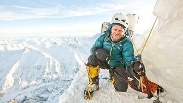 Tomasz Mackiewicz podczas wyprawy na Nanga Parbat, styczeń 2014