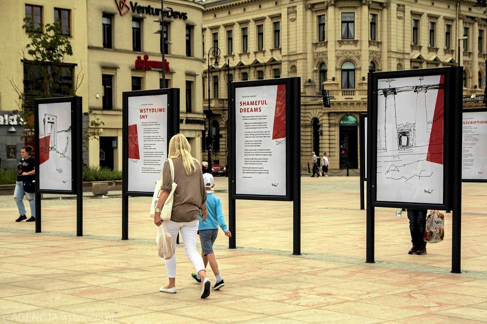 Plac Litewski. Wystawa poświęcona poezji Zbigniewa Herberta