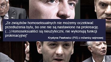 Związki partnerskie - dzień w Sejmie