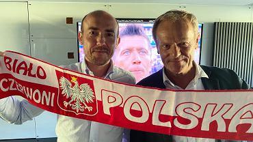 Spotkanie lidera PO Borysa Budki z Donaldem Tuskiem
