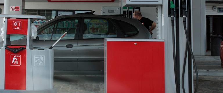 Chciał zapłacić za paliwo, którego nie zatankował. Interweniowała straż