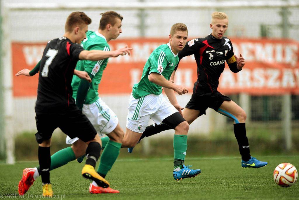 Legia - Polonia w Centralnej Lidze Juniorów