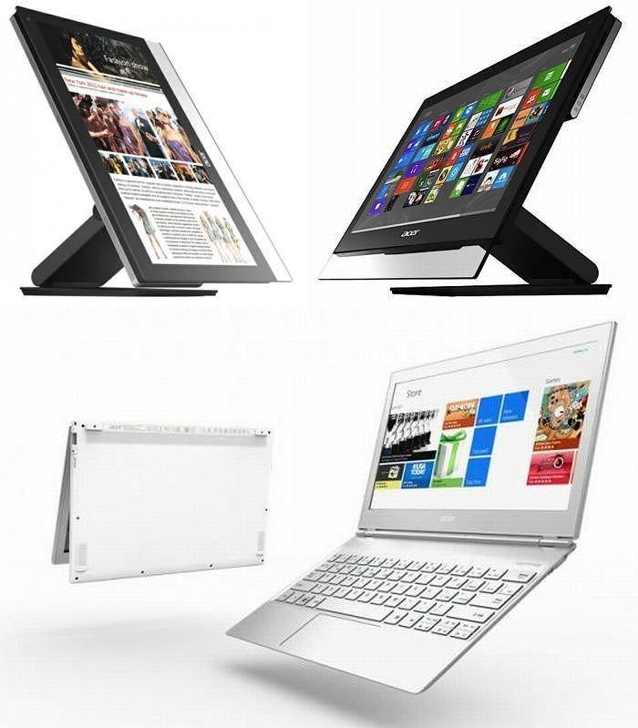 Windows 8 z Acerem - ładny system w ładnych komputerach