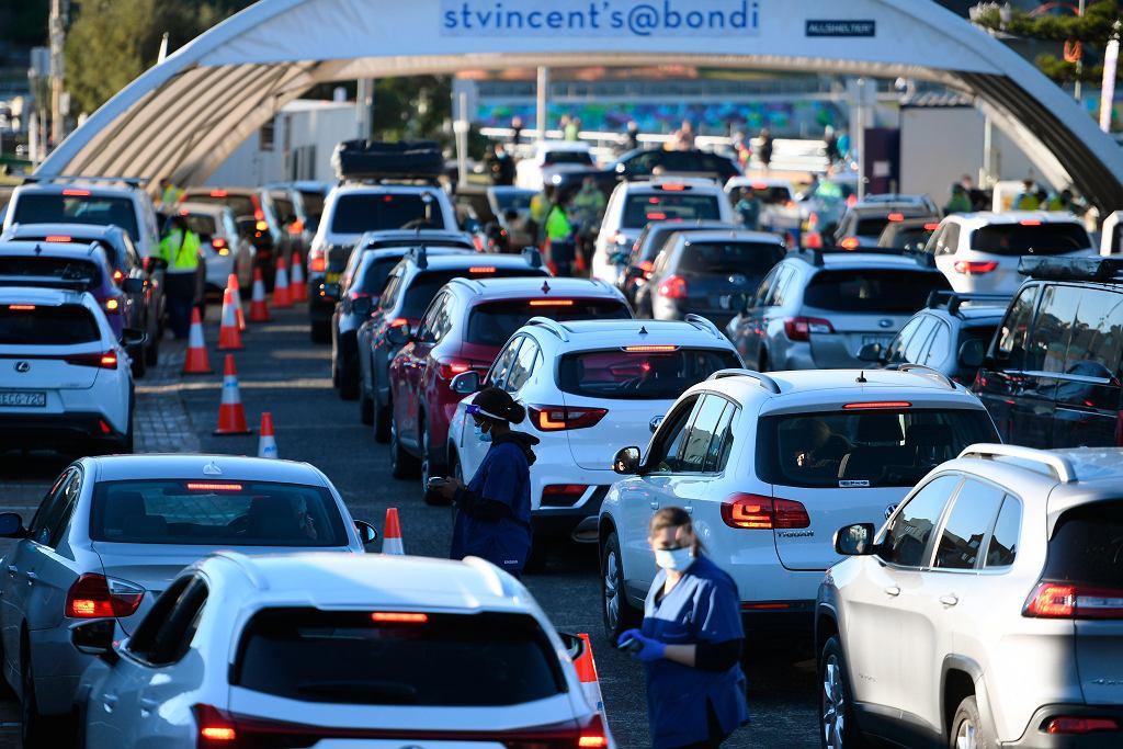 Władze Sydney wprowadziły częściowy lockdown na terenie aglomeracji