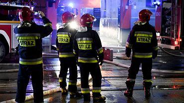 Niebezpieczne burze nad Polską. Strażacy interweniują (zdjęcie ilustracyjne)