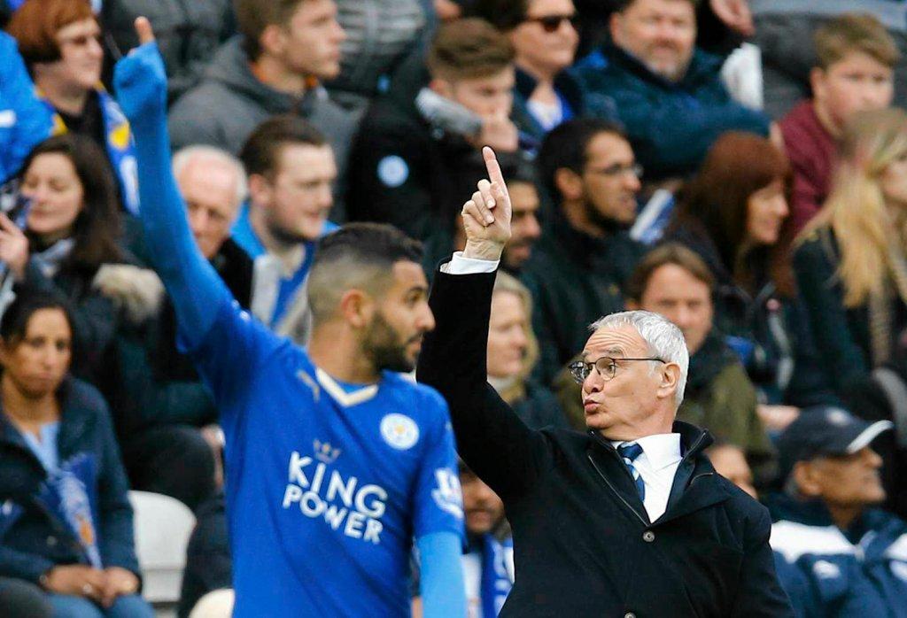 Riyad Mahrez i Claudio Ranieri