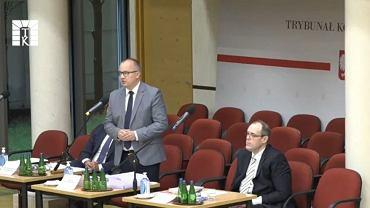 Adam Bodnar w Trybunale Konstytucyjnym